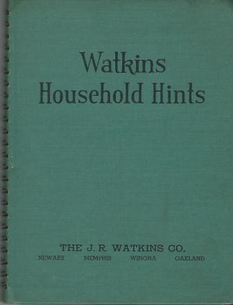 Image for Watkins Household Hints