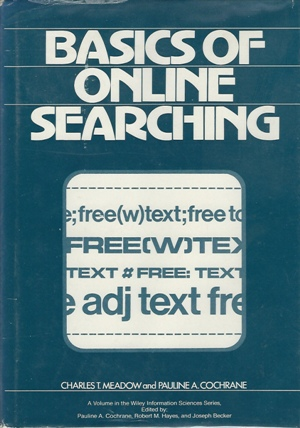 Image for Basics Of Online Searching