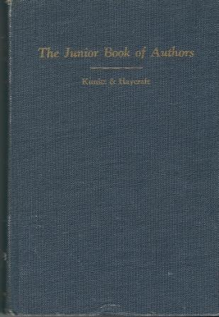 Image for Junior Book Of Authors, Second Edition, Revised Illustrated with 232 Photographs and Drawings