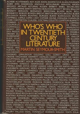 Image for Who's Who In Twentieth Century Literature