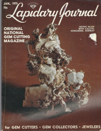Image for Lapidary Journal, January 1975 Original National Gem Cutting Magazine