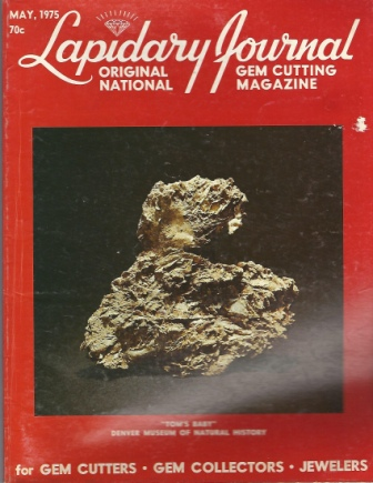 Image for Lapidary Journal, May 1975 Original National Gem Cutting Magazine