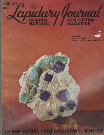 Image for Lapidary Journal, January 1976 Original National Gem Cutting Magazine