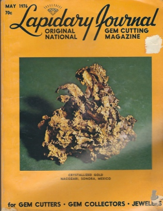 Image for Lapidary Journal, May 1976 Original National Gem Cutting Magazine