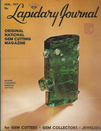Image for Lapidary Journal, January 1977, Volume 30 Number 10 Original National Gem Cutting Magazine