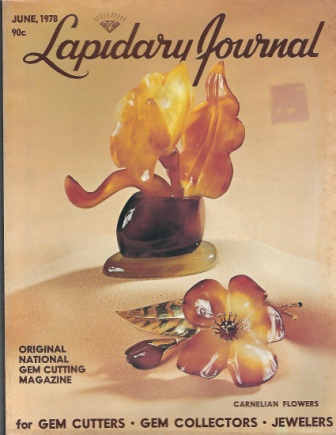 Image for Lapidary Journal, June 1978 Original National Gem Cutting Magazine