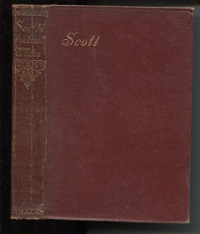 Image for Scott's Poetical Works