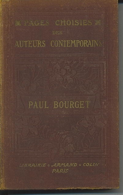 Image for Pages Choisies Des Auteurs Contemporains