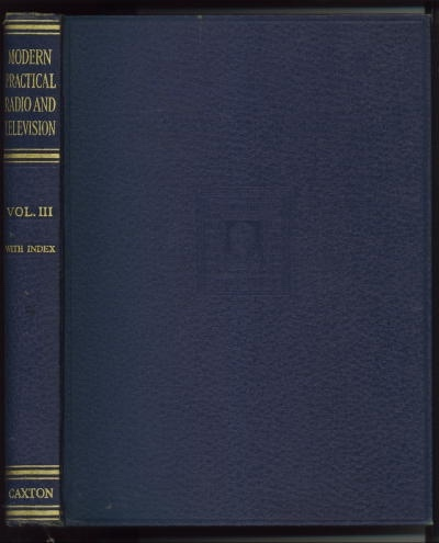 Image for Modern Practical Radio And Television Volume III