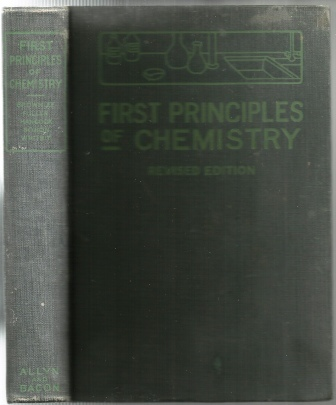 Image for First Principles Of Chemistry
