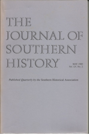 Image for The Journal Of Southern History May 1989 Vol. LV, No. 2
