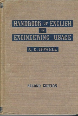 Image for Handbook Of English In Engineering Usage
