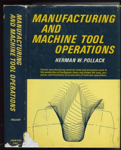 Image for Manufacturing And Machine Tool Operations