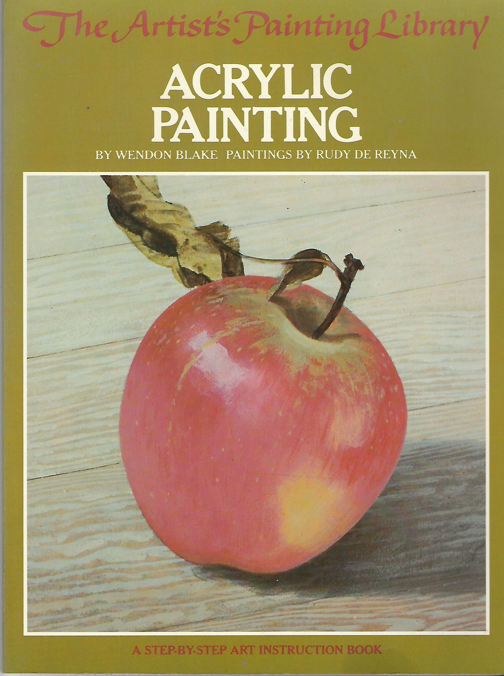Image for Acrylic Painting A Step-By-Step Instruction Book
