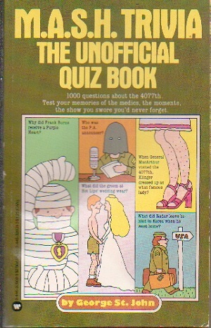 Image for M*A*S*H Trivia Book The Unofficial Quiz Book