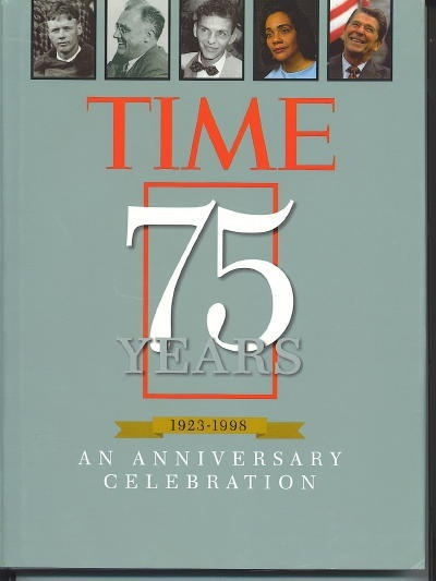 Image for TIME 1923-1998, 75 YEARS