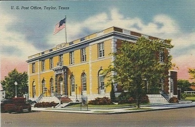 Image for U. S. Post Office, Taylor, Texas