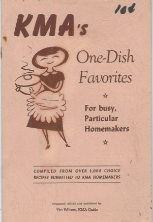 Image for KMA's One-dish Favorites For Busy, Particular Homemakers