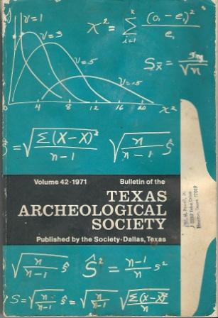 Image for Bulletin Of The Texas Archeological Society - Volume 42