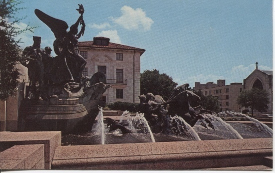 Image for The Littlefield Fountain, University Of Texas Campus, Austin, Texas