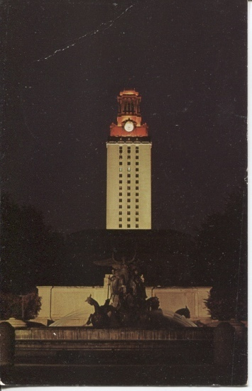 Image for University Of Texas [Glowing Tower]