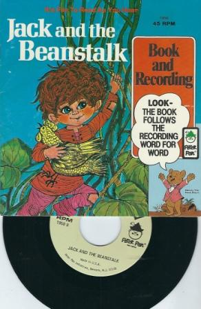 Image for Jack And The Beanstalk, Book And 45 RPM Recording #1950