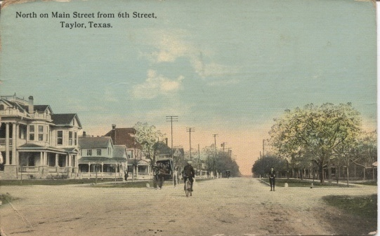 Image for North On Main Street From 6th Street, Taylor, Texas