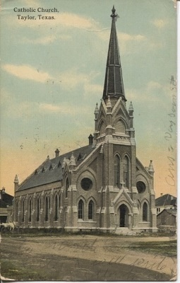Image for Catholic Church, Taylor, Texas