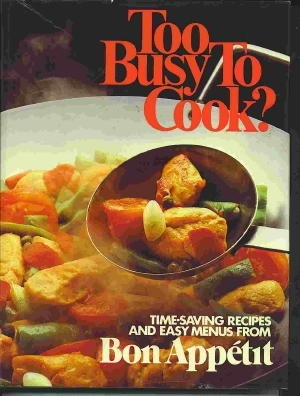 Image for Too Busy To Cook?