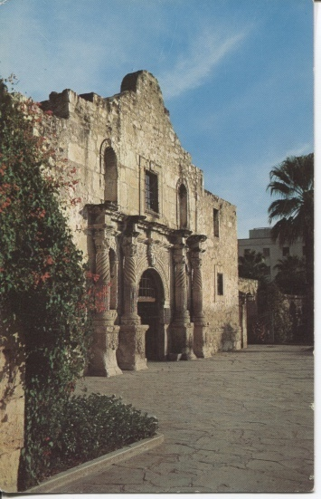 Image for Seen On The Old Spanish Trail -- The Alamo