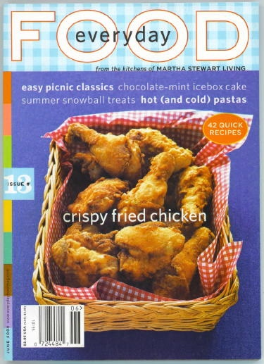 Image for Everyday Food Issue 13, June 2004