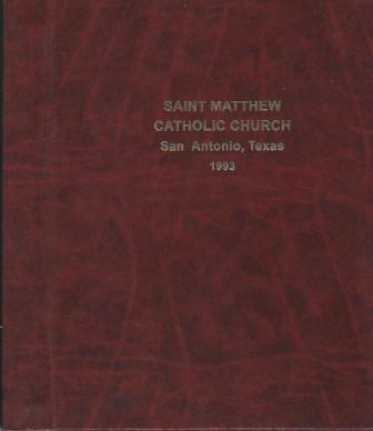 Image for Saint Matthew Catholic Church, San Antonio, Texas 1993 Directory