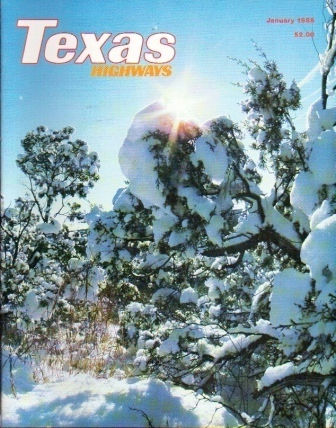 Image for Texas Highways Magazine, January 1988 The Official Texas State Travel Magazine
