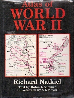 Image for Atlas Of World War II With 85 Illustrations and 150 Maps