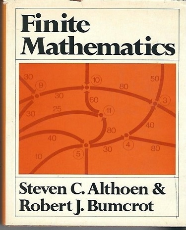 Image for Finite Mathematics