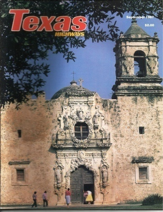 Image for Texas Highways Magazine September 1987 The Official Texas State Travel Magazine