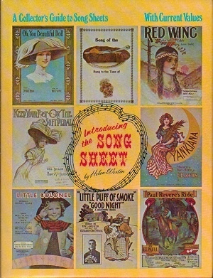 Image for Introducing The Song Sheet: A Collector's Guide With Current Values