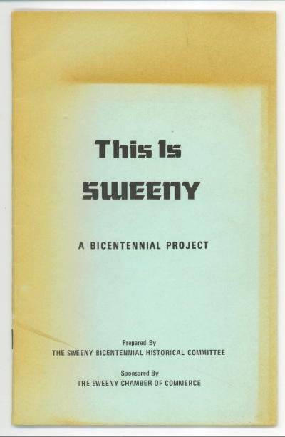 Image for This Is Sweeny A Bicentennial Project