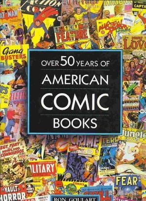 Image for Over 50 Years Of American Comic Books