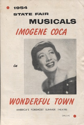 Image for 1954 State Fair Musicals: Imogene Coca In Wonderful Town A Musical Comedy