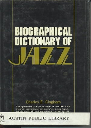 Image for Biographical Dictionary Of Jazz