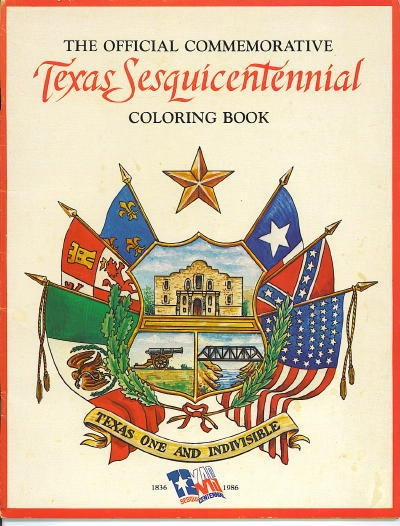 Image for The Official Commemorative Texas Sesquicentennial Coloring Book