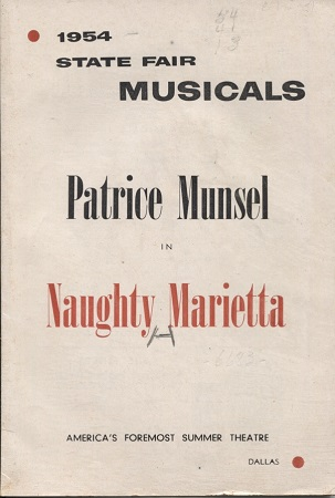 Image for 1954 State Fair Musicals: Patrice Munsel In Naughty Marietta