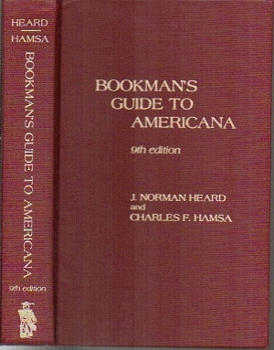 Image for Bookman's Guide To Americana 9th Edition