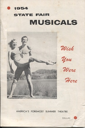 Image for 1954 State Fair Musicals, Wish You Were Here, (starring Gale Storm)  A New Musical Comedy