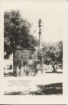 "Image for Baptist Encampment ""Water Supply"", Alto Frio, Texas"