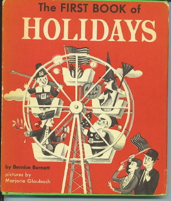 Image for The First Book Of Holidays
