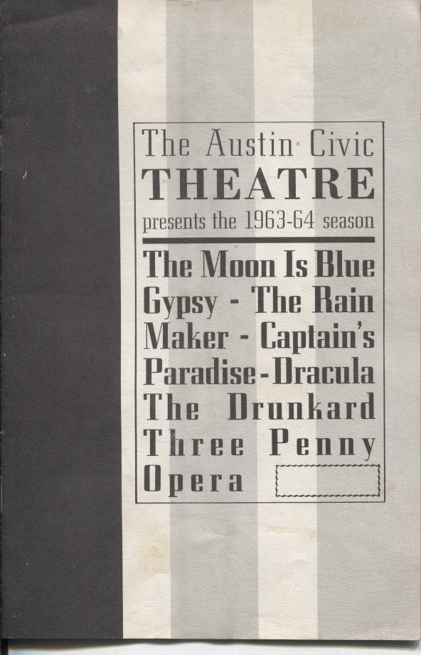 Image for Gypsy, A Playbill The 1963-1964 Season