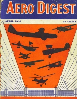 Image for Aero Digest, April 1932: National Aircraft Show Number