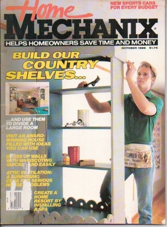 Image for Home Mechanix, October 1988, Volume 84 No. 726 Helps Homeowners Save Time and Money